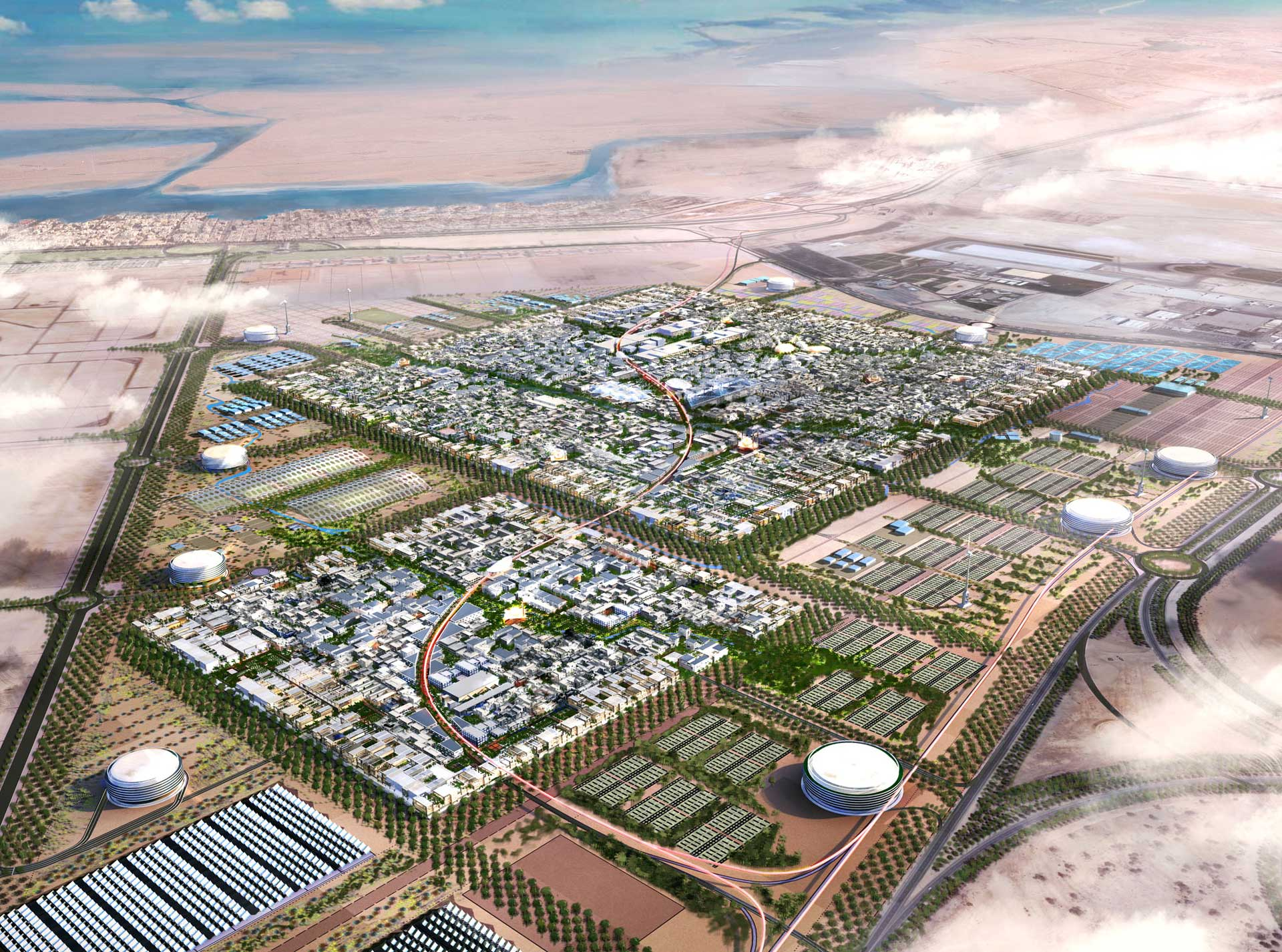 Masterplan Masdar City
