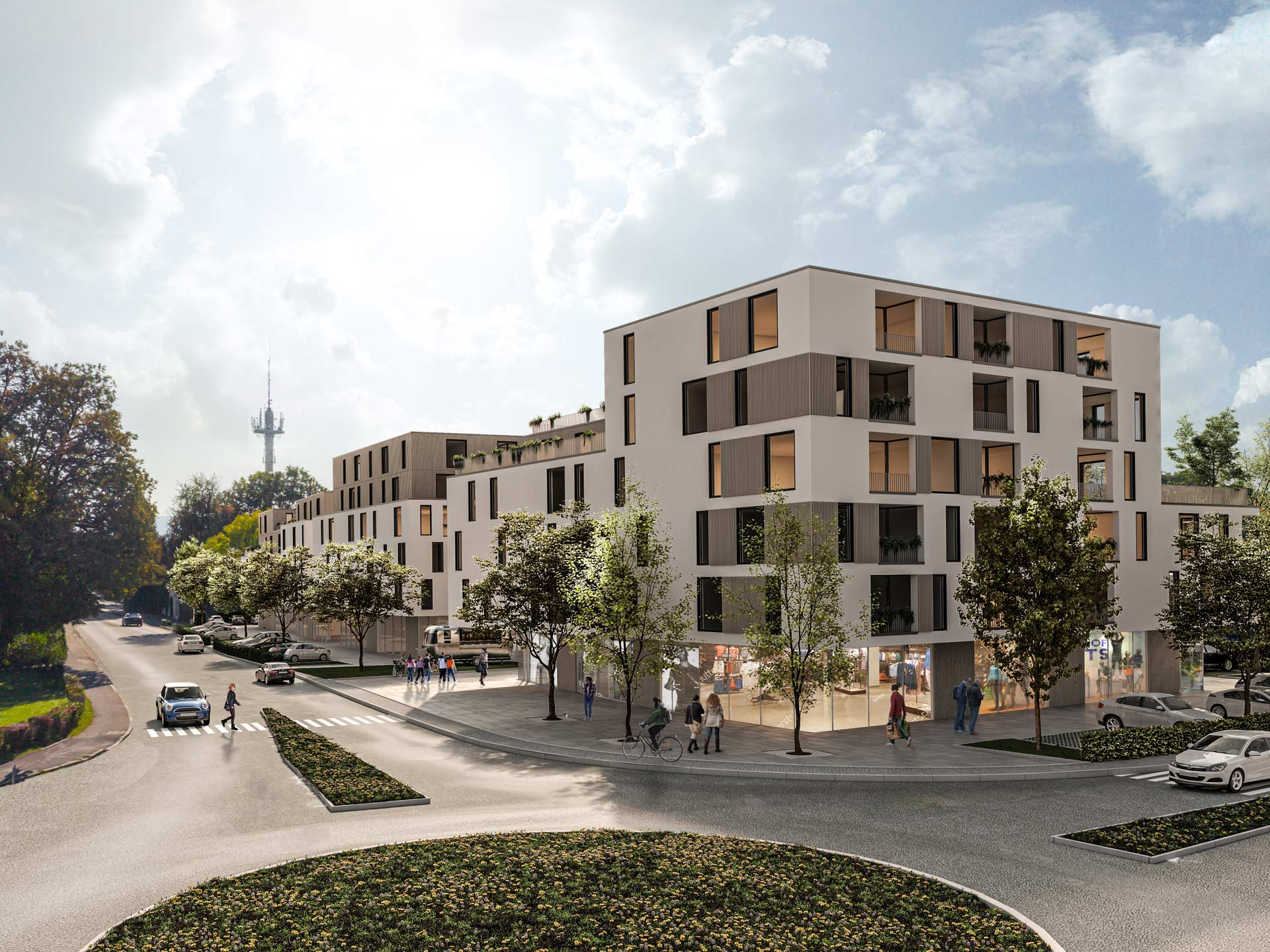 Westend Buildings for Mixed Use