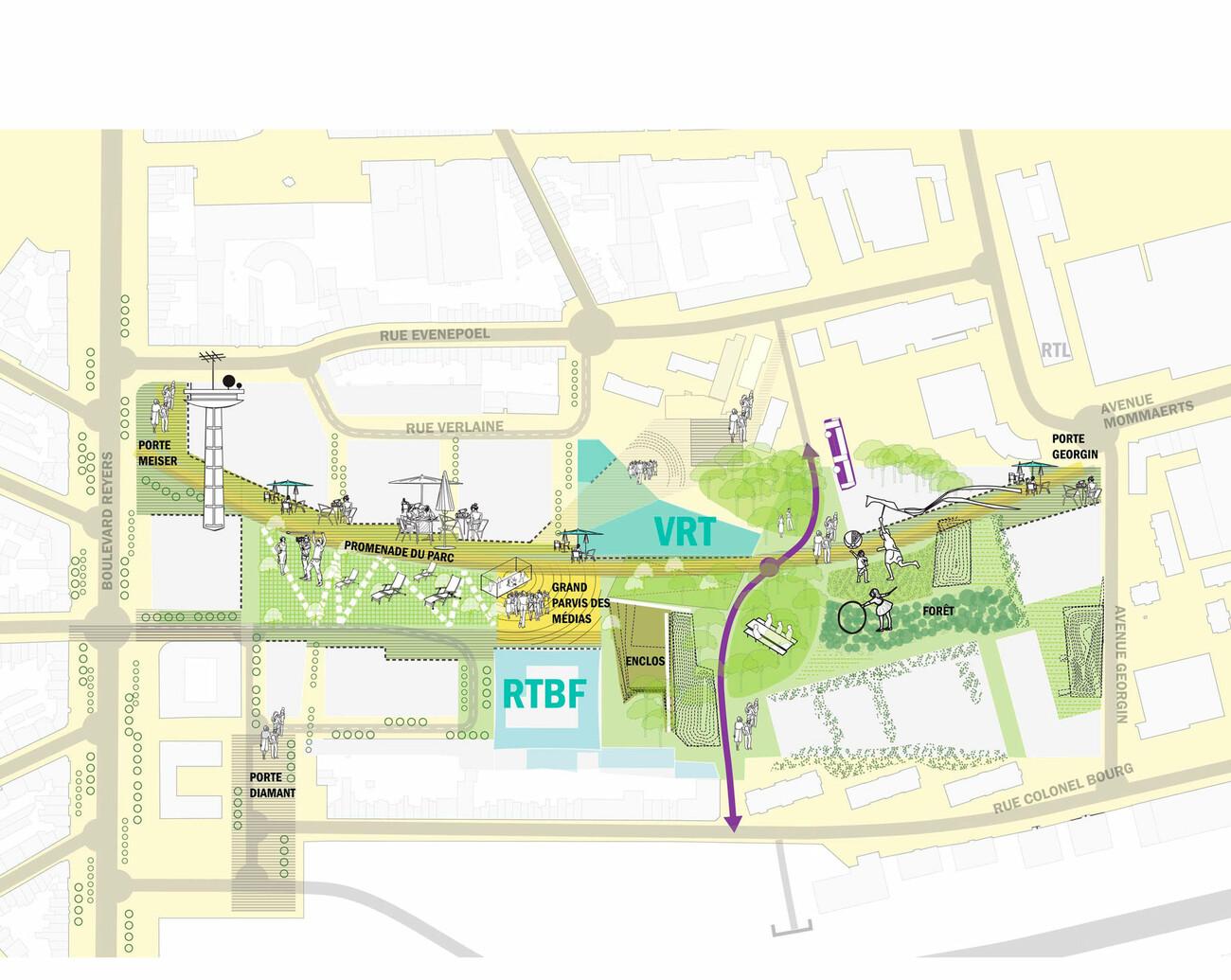 Masterplan Mediapark