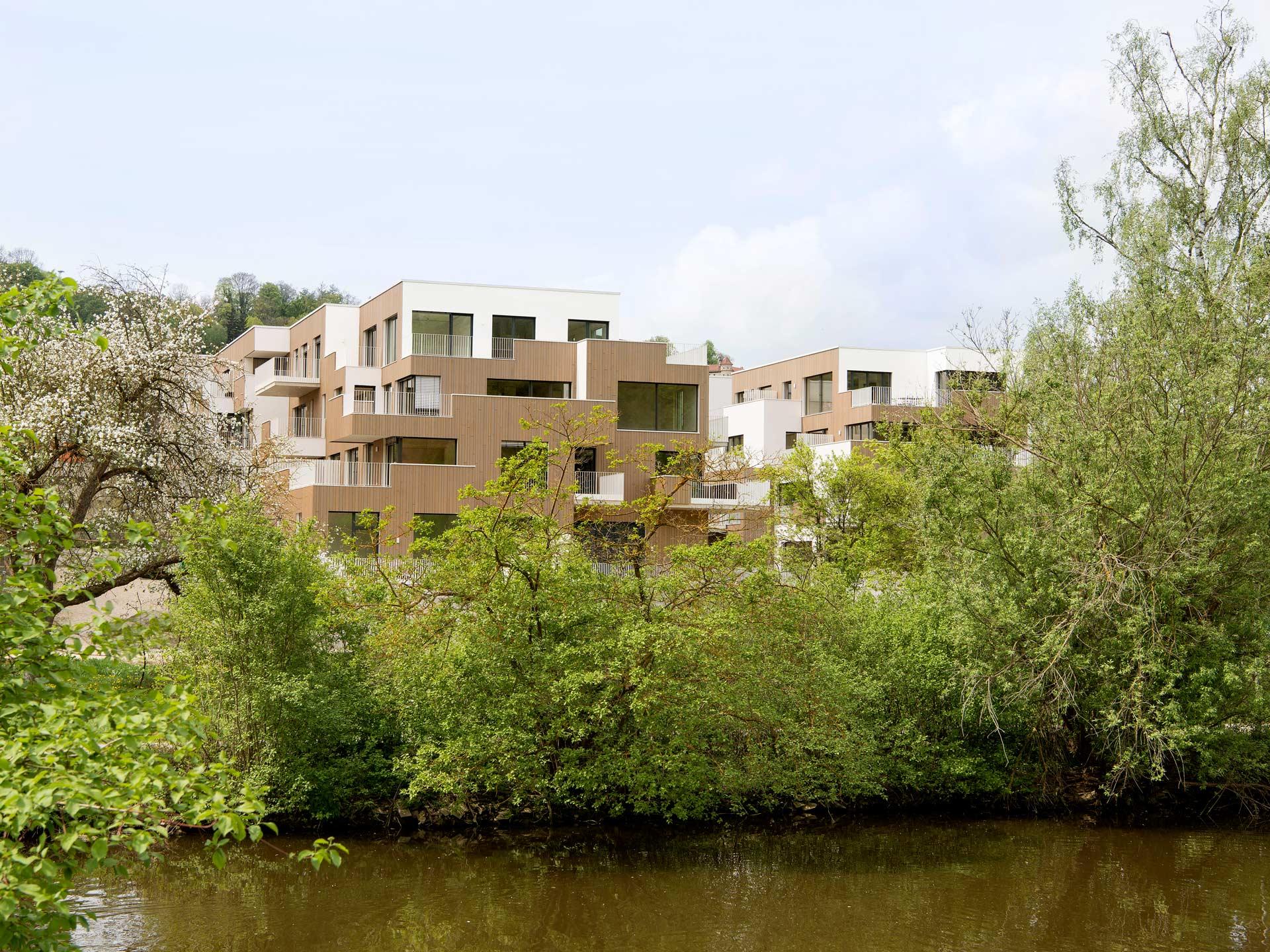 Living on the  Altmuehl River