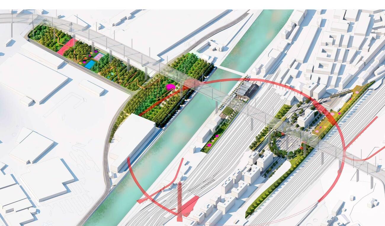 Masterplan Polcevera Park – Under the Bridge