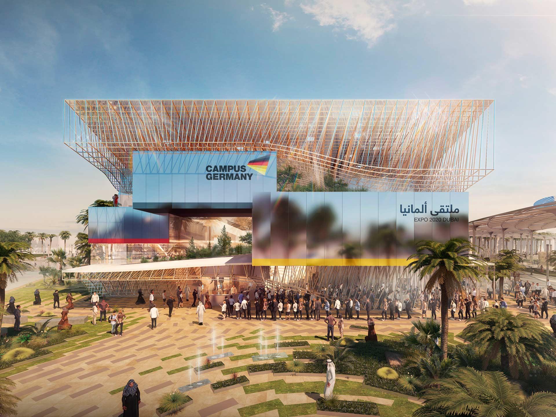German Pavilion EXPO 2020 Dubai