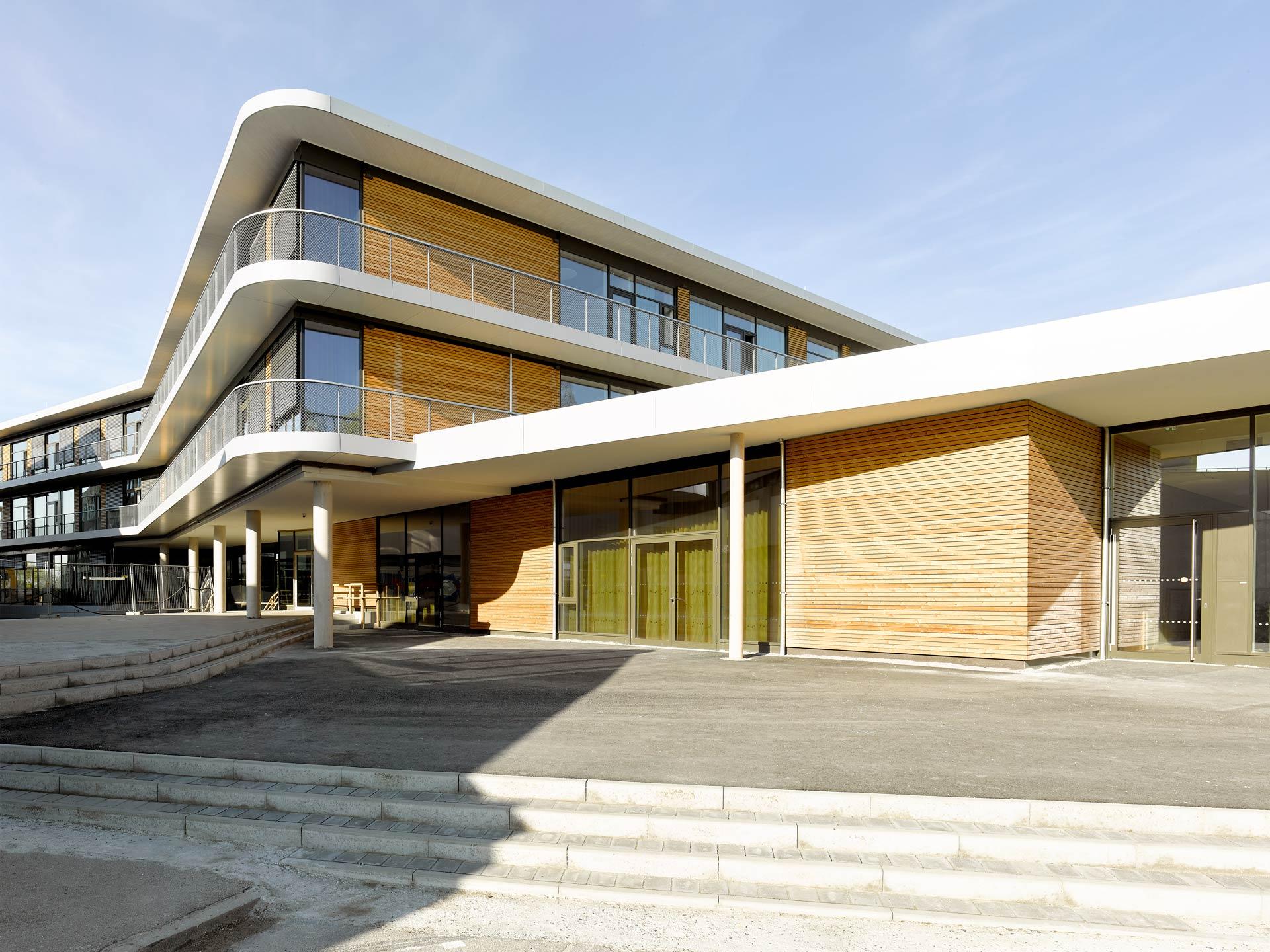 New Building Secondary School