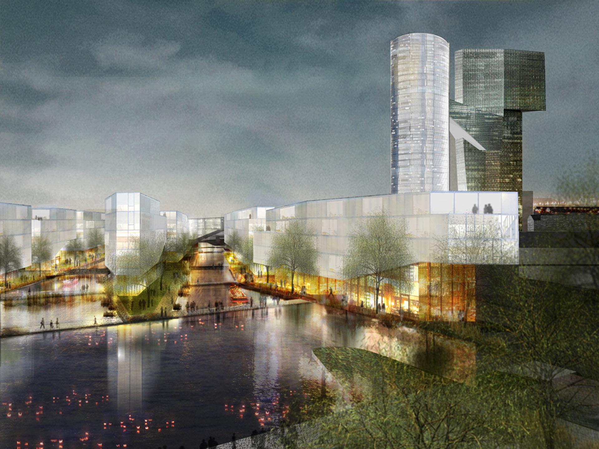 Shan Shui Masterplan