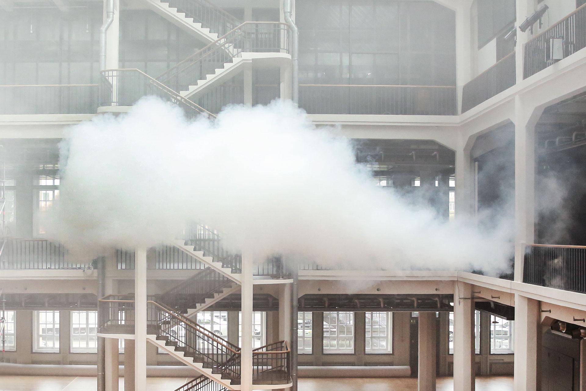 Cloudscapes ZKM | Transsolar + Tetsuo Kondo