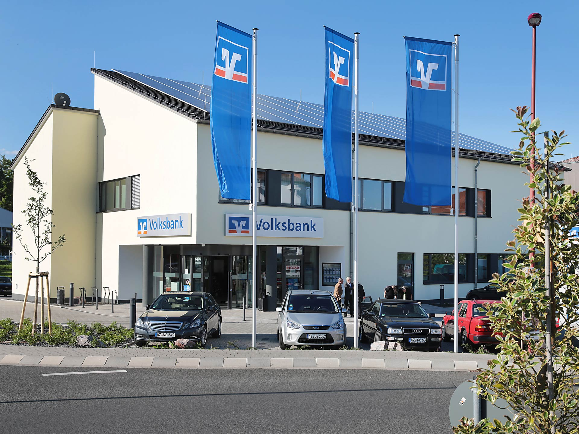 Climate-positive: Building Volksbank