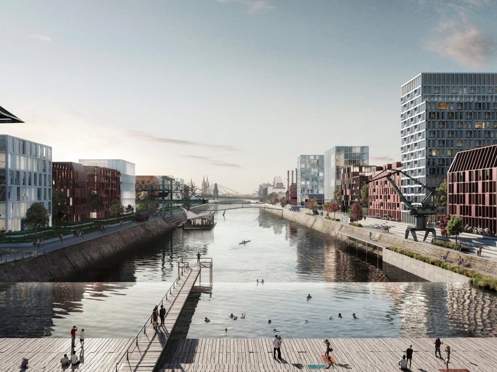 Deutzer Hafen Quartier am Wasser