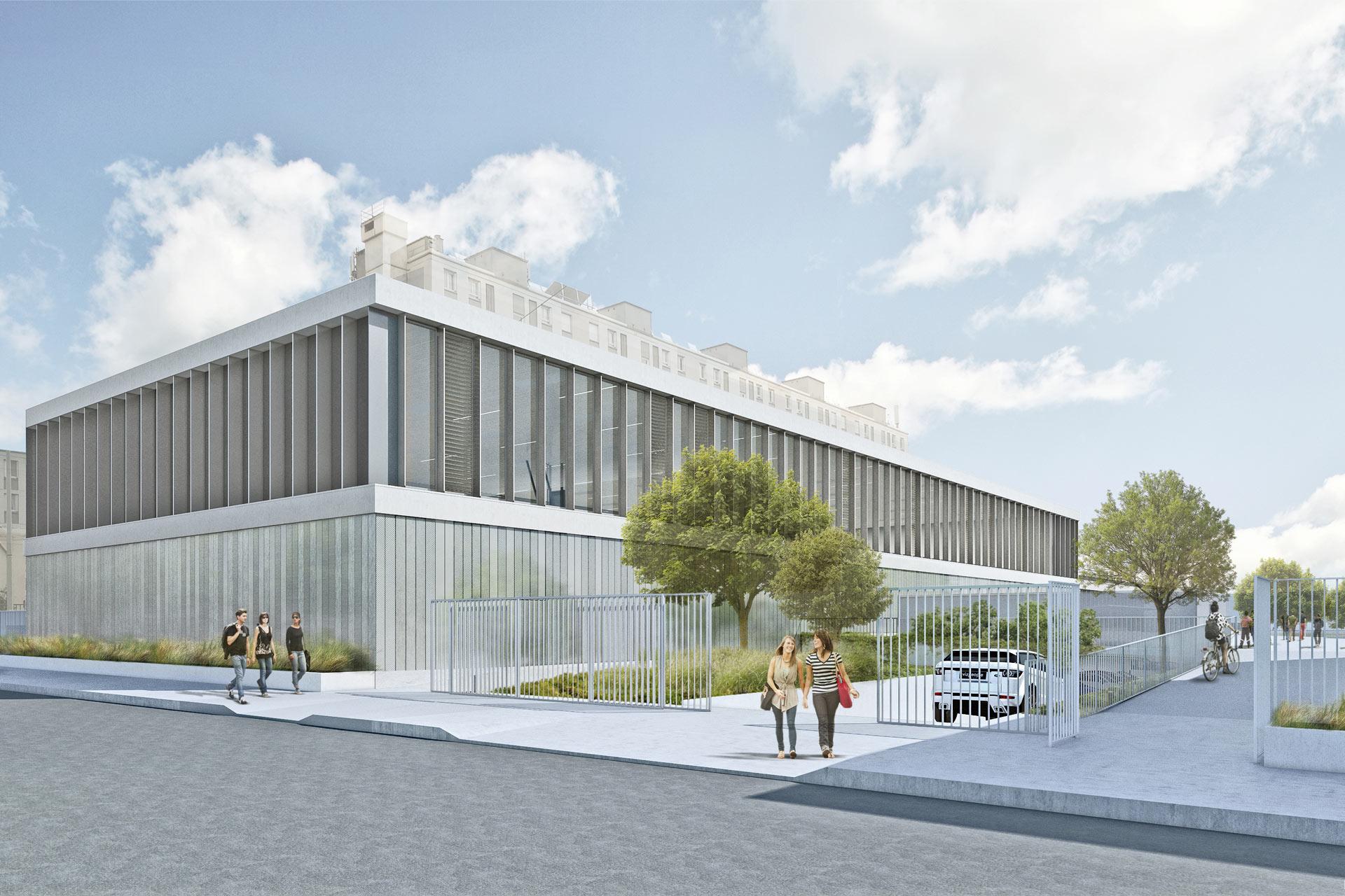 Sports Hall Jules-Le-Cesne
