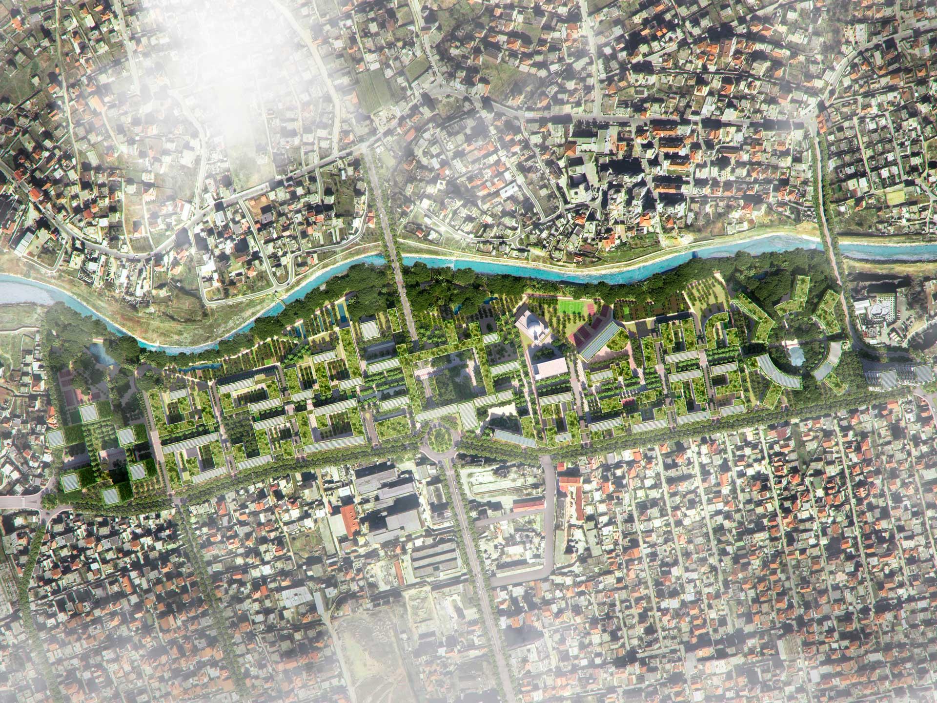 Tirana 2030 Masterplan Riverside