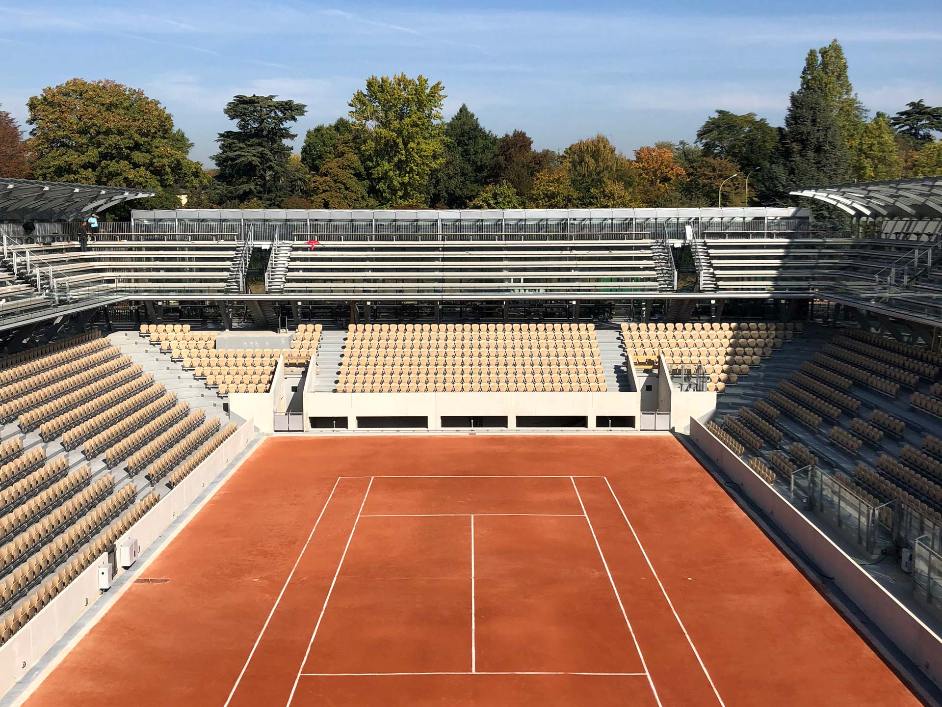 Court Simonne-Mathieu de Roland Garros