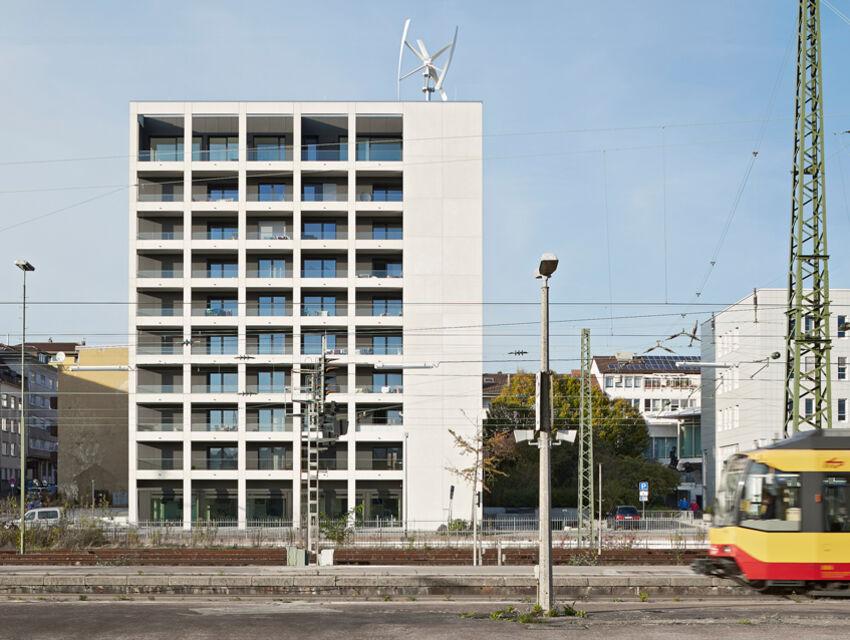 Generalsanierung Wohnhochhaus Güterstraße 30