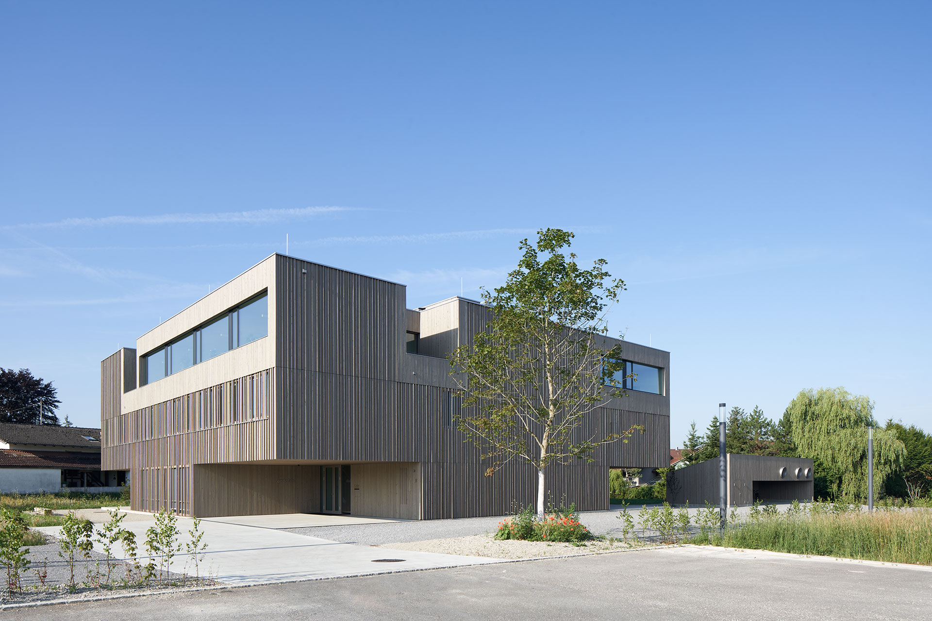New Head Office and Lab Building