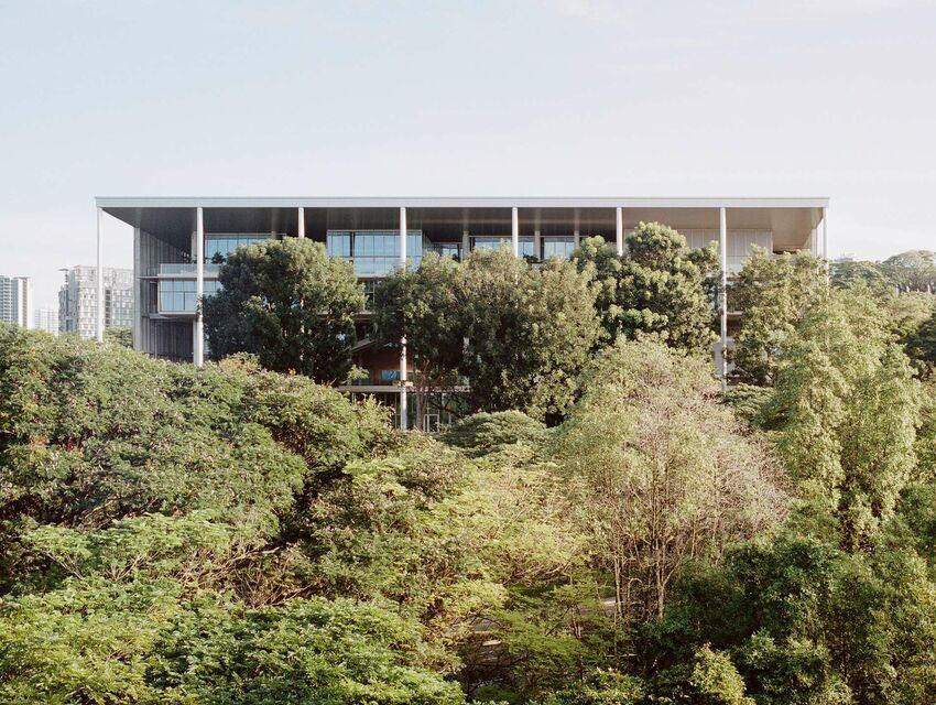 Positif au climat: NUS School of Design and Environment