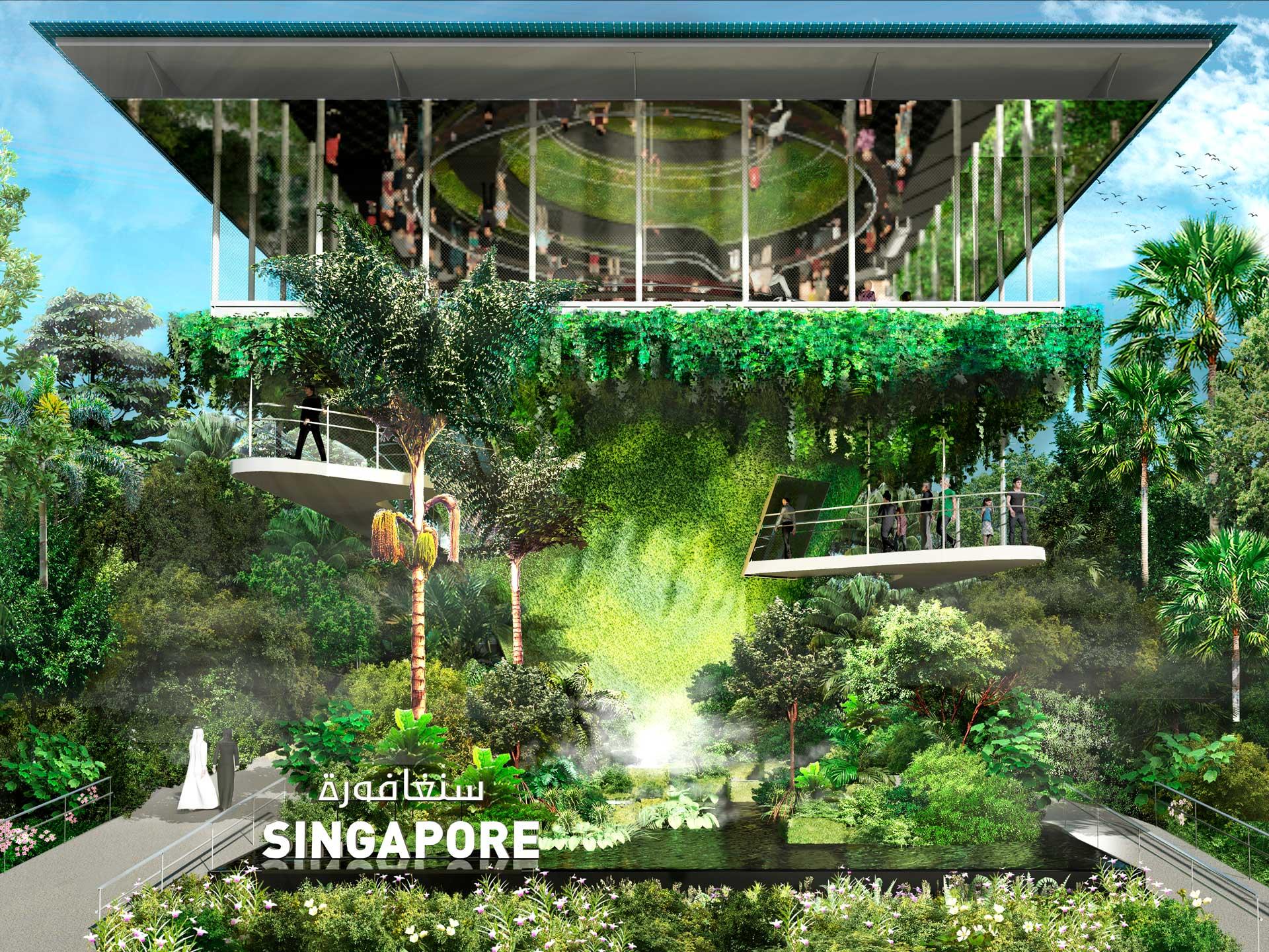 Singapore Pavilion at Expo 2021