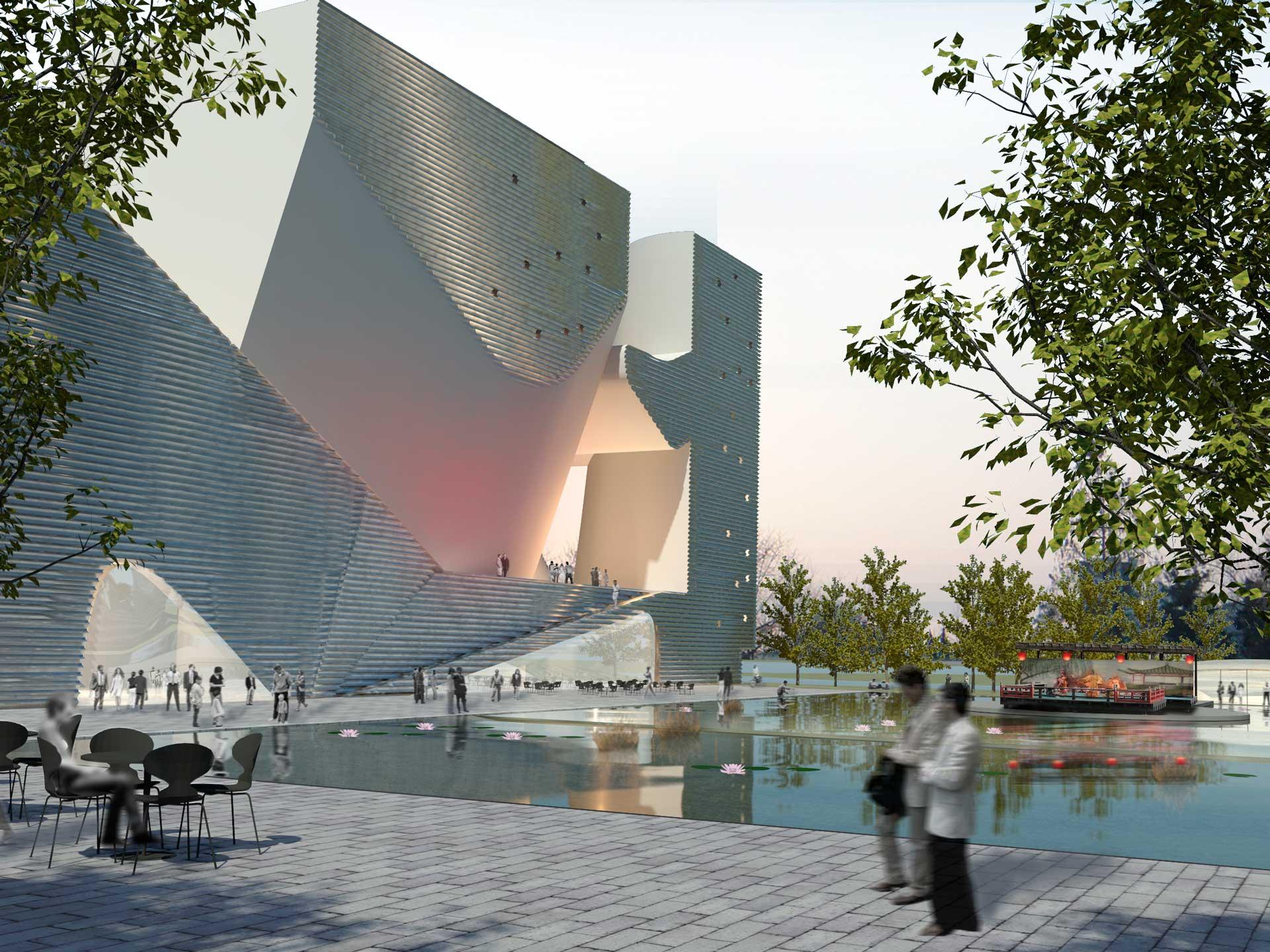 Tianjin Eco City: Museum