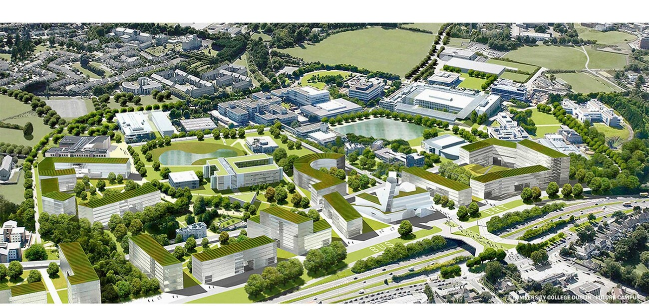 UCD University College Dublin Future Campus