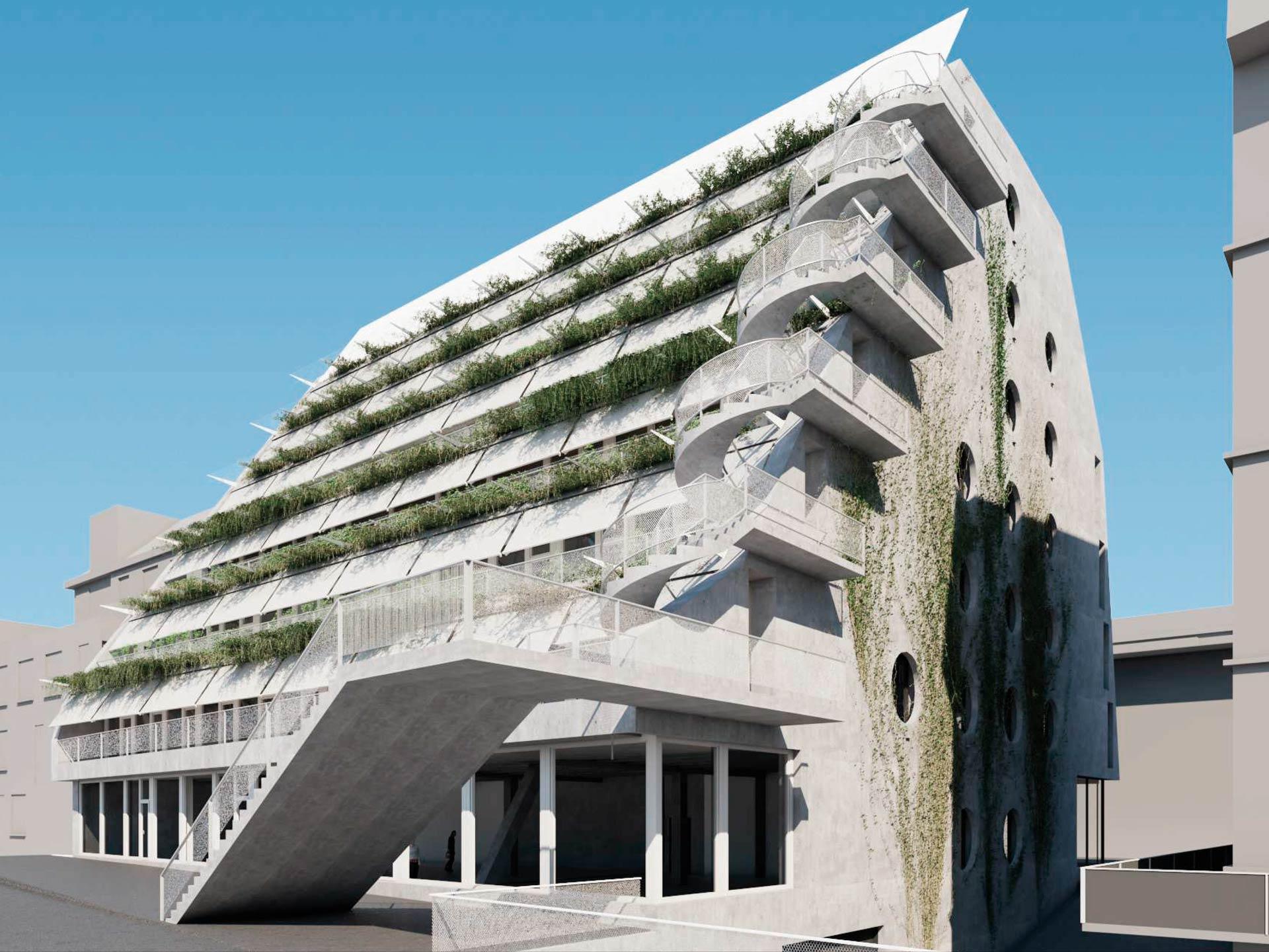 Immeuble de bureaux et de commerces Binzstrasse 29