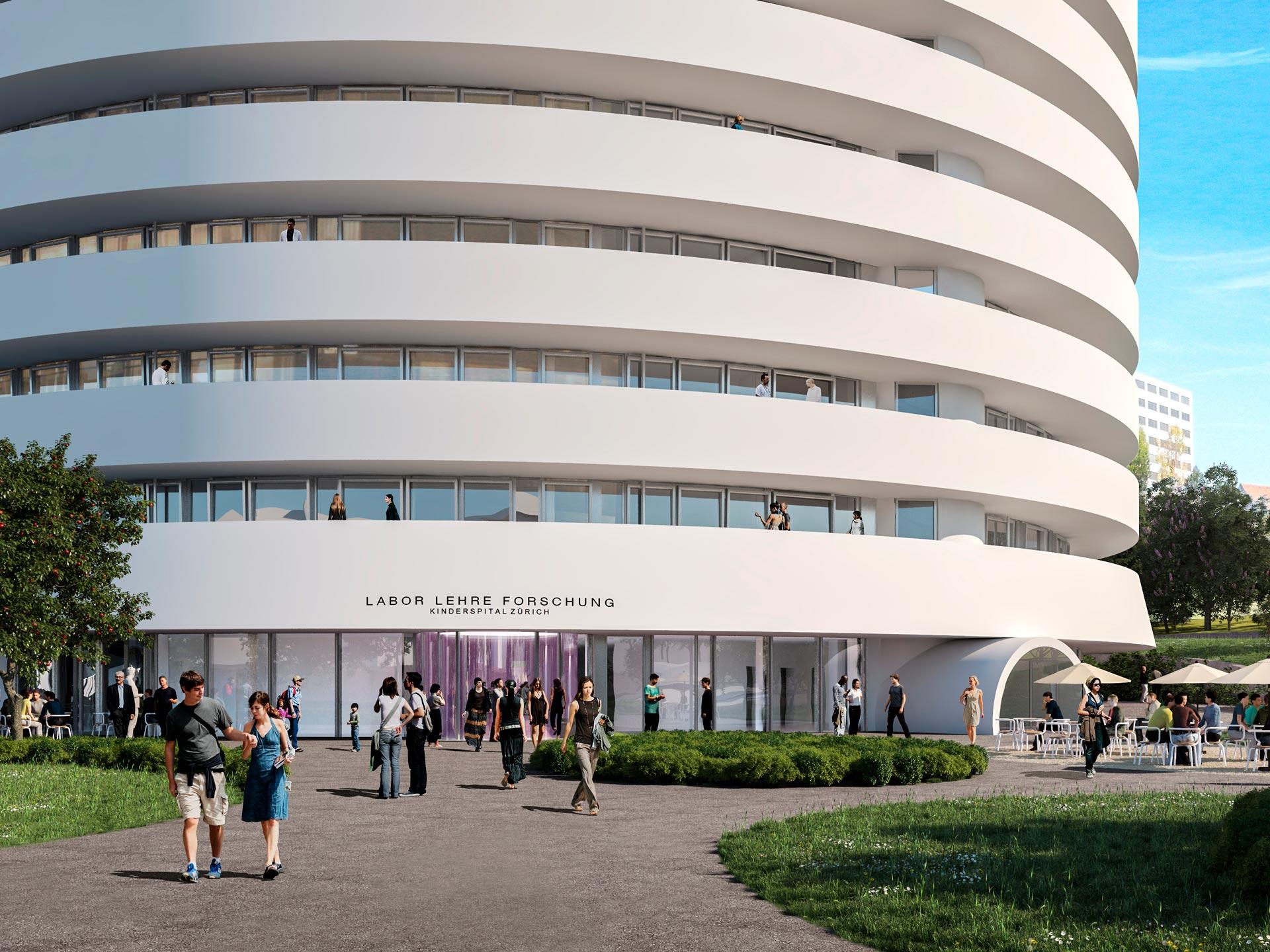 Pediatric Hospital New Building